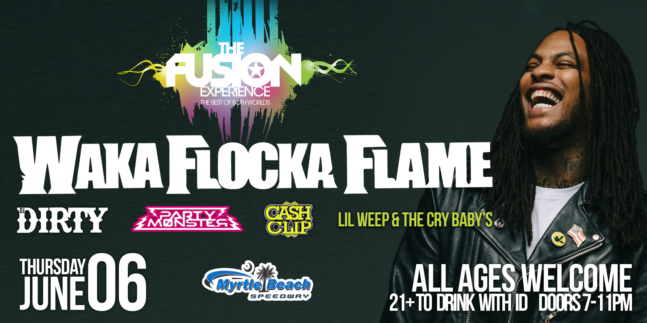 Waka Flocka Flame Myrtle Beach 2019