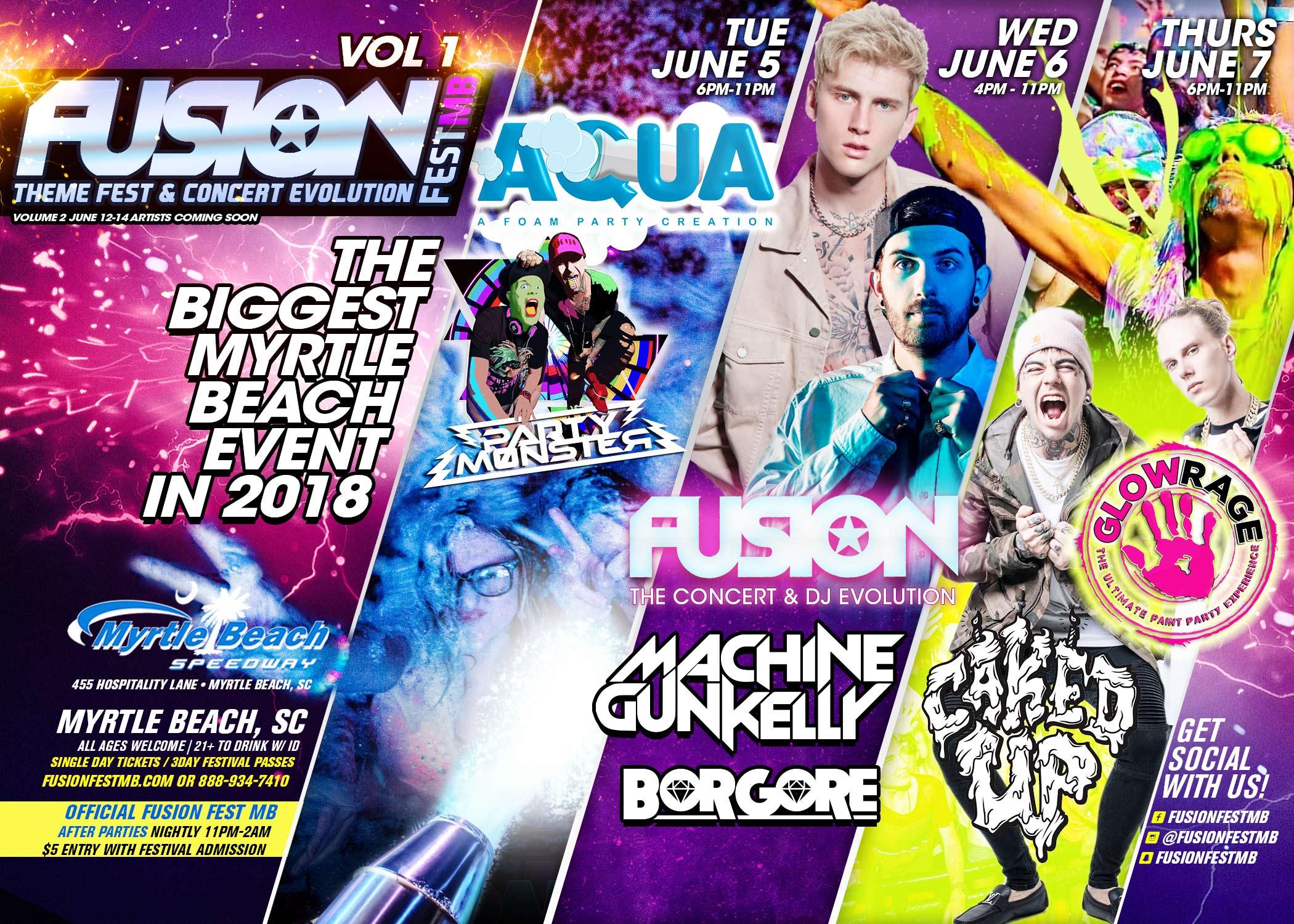 Machine Gun Kelly - Live in Myrtle Beach - June 6, 2018