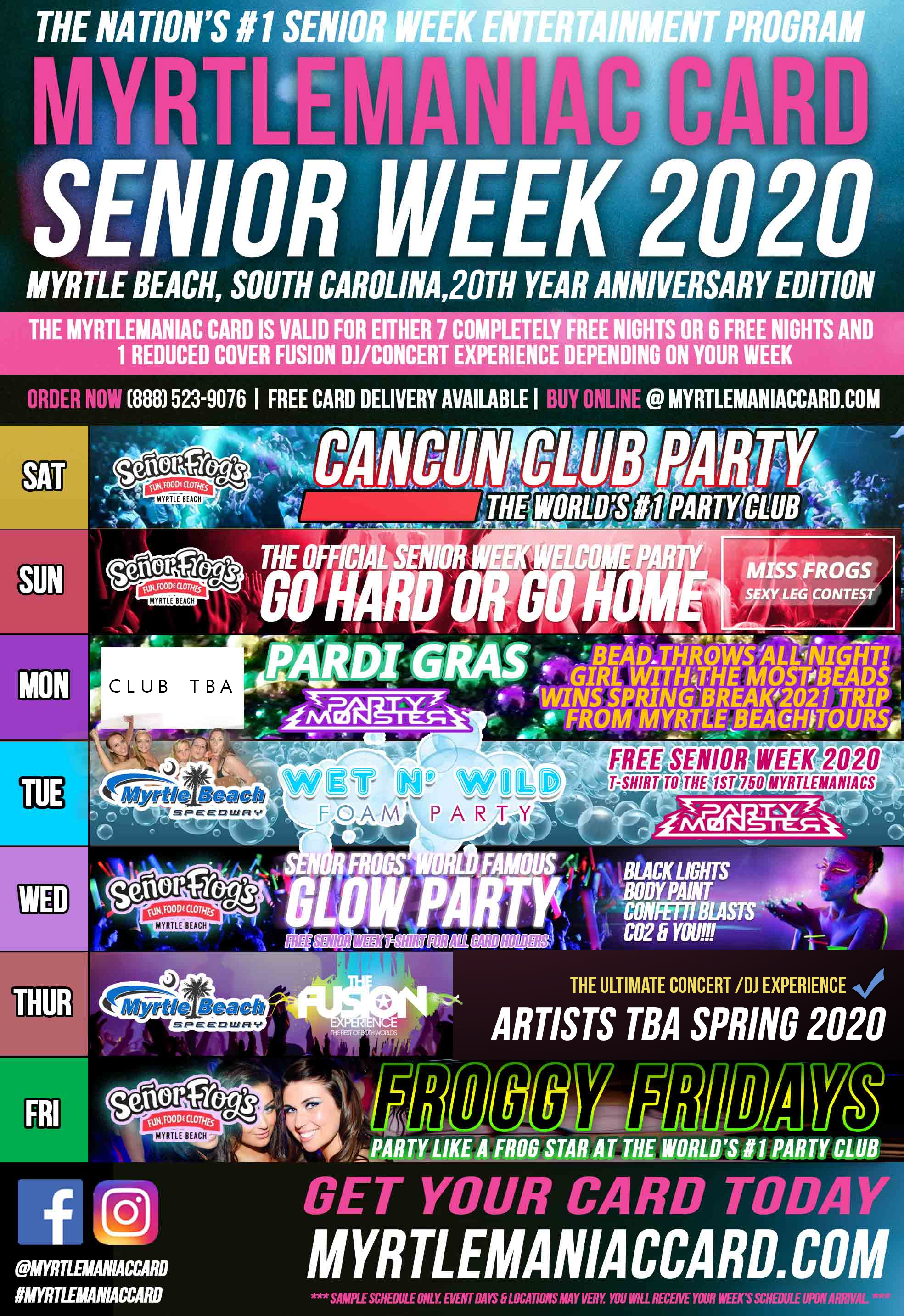 2020-senior-week-Myrtlemaniac-sample-schedule